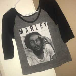 Bob Marley Crop Top